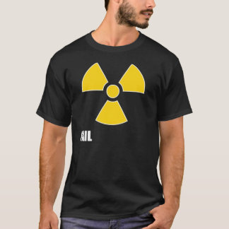 T-shirt nucléaire d'obscurité d'ÉCHOUER de symbole
