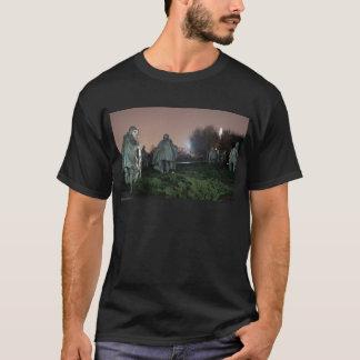 T-shirt Nuit de monument de Washington de mémorial de