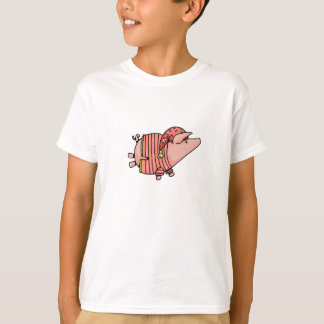 T-shirt nuit de nuit porcine