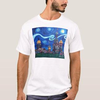 T-shirt Nuit étoilée à St Petersburg Russie