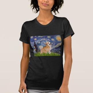 T-shirt Nuit étoilée - corgi 7b de Gallois de Pembroke