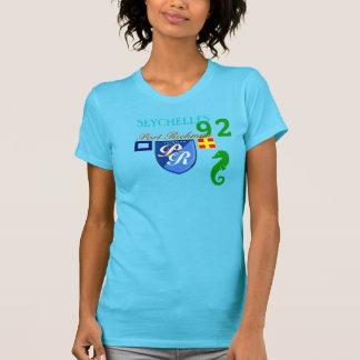 T-shirt Numéro 92 Seychelles de Richman de port de P.R.