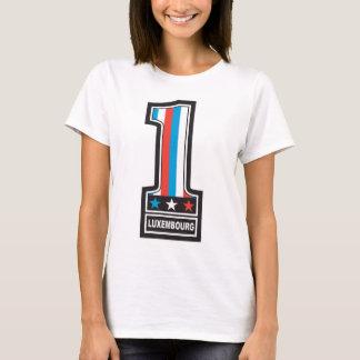 T-shirt Numéro un Luxembourg