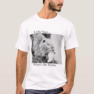 T-shirt Nutria