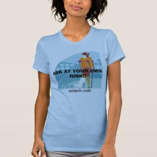 T-shirt NVTech_vc019731, DEMANDENT À VOS RISQUES ET PÉRILS