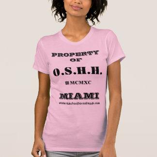 T-shirt O.S.H.H. Réservoir fait sur commande L1 de