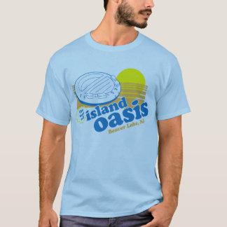 T-shirt Oasis vintage d'île