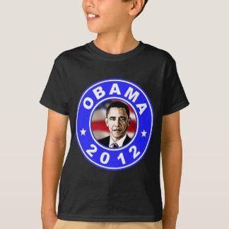 T-shirt Obama 2012 - Bleu