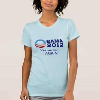T-shirt Obama 2012 - Oui nous pouvons… encore !