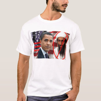 T-shirt Obama a attrapé Osama