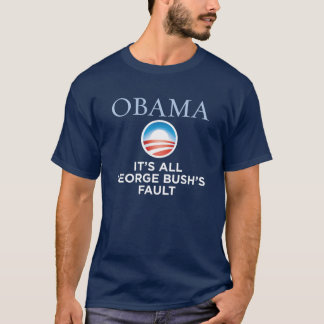 T-shirt Obama - Défaut-Blâme de Bush que nous pouvons