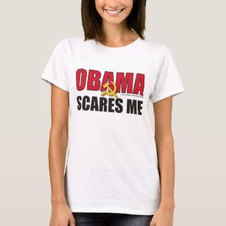 T-shirt Obama m'effraye - customisé