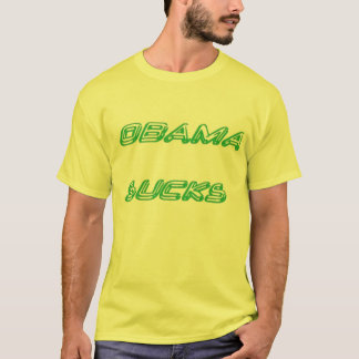 T-shirt OBAMA SUCE, des impôts