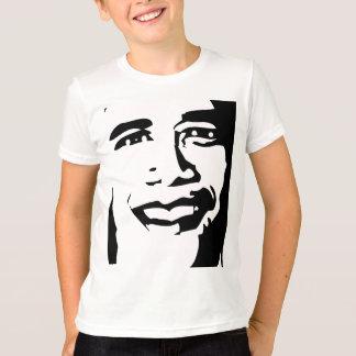 T-shirt OBAMA Visage-il !