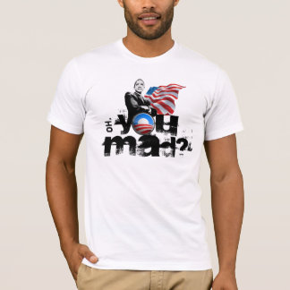 T-shirt Obama vous chemises folles ?