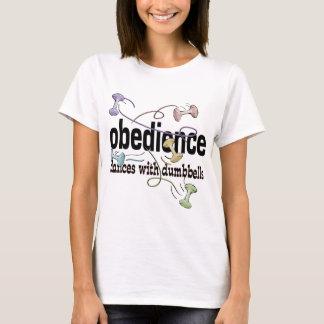 T-shirt Obéissance : Danses avec des haltères