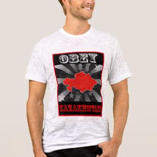 T-shirt Obéissez Kazakhstan