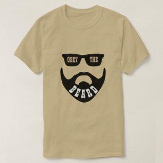 """T-shirt Obéissez la barbe Brown """"yeux """""""