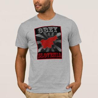 T-shirt Obéissez la Slovénie