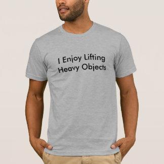 T-shirt Objets lourds