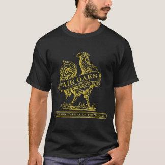 T-shirt Obscurité capitale de pièce en t de poulet