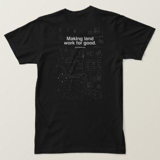 T-shirt Obscurité classique de GoodLands, hommes