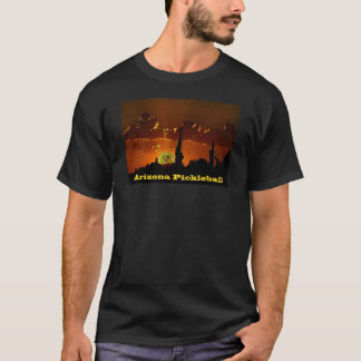 T-shirt Obscurité de l'Arizona Pickleball