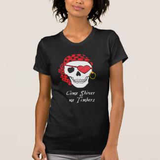T-shirt Obscurité de pièce en t de pirate de Valentine