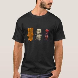 T-shirt OBSCURITÉ de voyage d'anatomie d'ours de Gummi