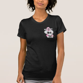 T-shirt Obscurité en bois de matin