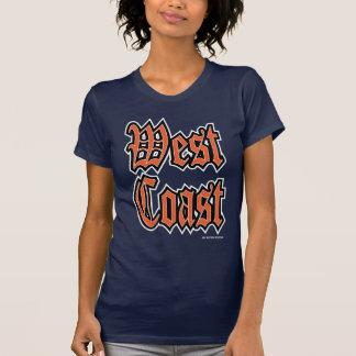 T-shirt Obscurité orange de côte ouest