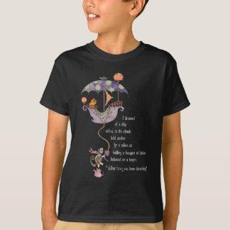 T-shirt Obscurité rêveuse de pièce en t de Kitty