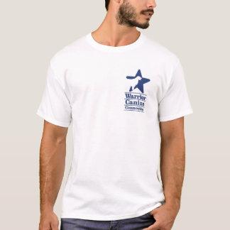 T-shirt Observateur extrême de chiot de WCC - patte simple