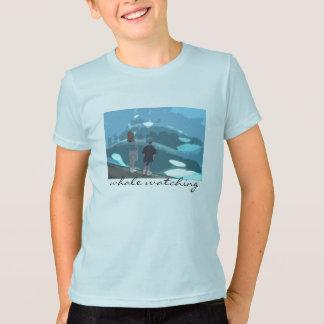 T-shirt Observation de baleine
