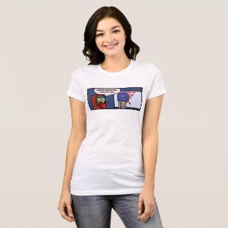 T-shirt Observation de professeur de surprise