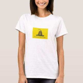 T-shirt Observez pour la chemise de dames de serpents