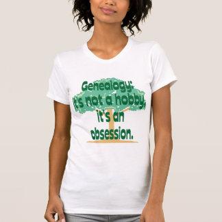 T-shirt Obsession de généalogie