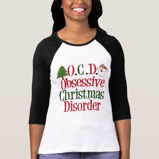 T-shirt Obsession drôle de Noël mignonne