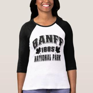 T-shirt Obsidien de style ancien de Banff NP