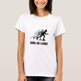 T-shirt Obtenez dans la ligne
