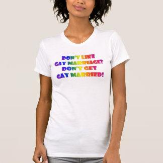 T-shirt Obtenez de luxe marié par homosexuel
