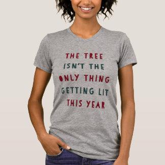 T-shirt Obtenez Noël du Lit |