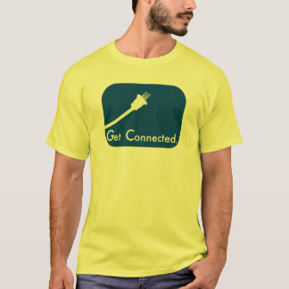 T-shirt Obtenez relié.  Électrique