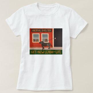 T-shirt Obtenez une nouvelle laisse sur la Vie-T-chemise
