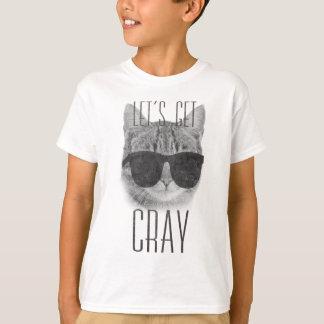 T-shirt Obtenons le chat de Cray