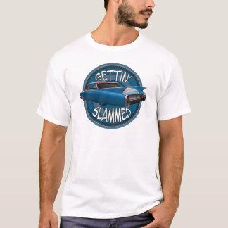 T-shirt obtention du bleu 1960 de ciel claqué de Cadillac