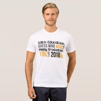 T-shirt Obtention du diplôme heureuse Yinz ! Conception de