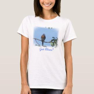 T-shirt obtenu de bleus !