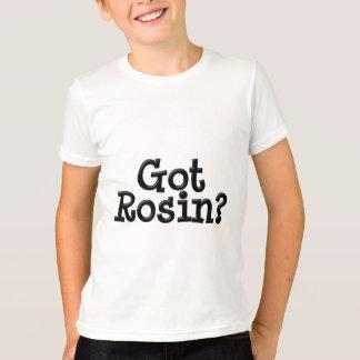 T-shirt obtenu de sonnerie d'enfant de colophane