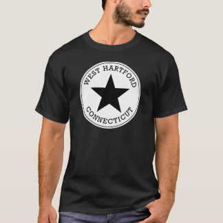 T-shirt occidental de Hartford le Connecticut
